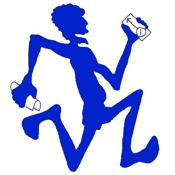 PO Blue man