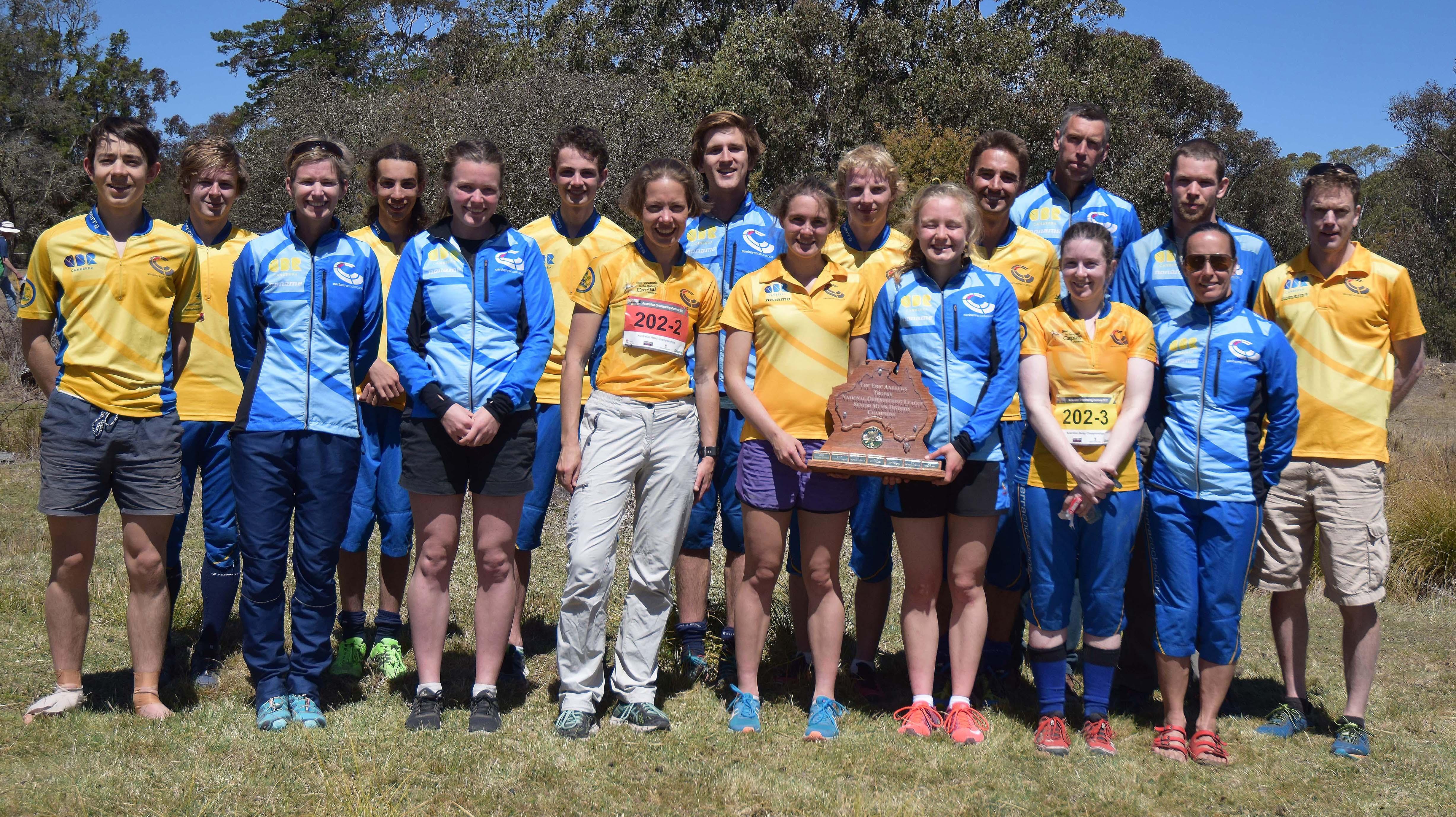 ACT Enjoys Multiple Successes at Australian Championships