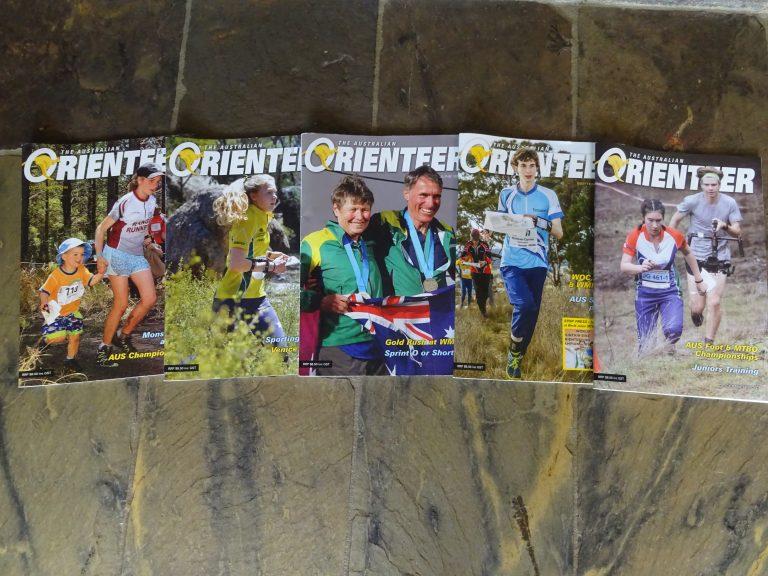"""Australian Orienteer Magazine """"Opt-in"""""""