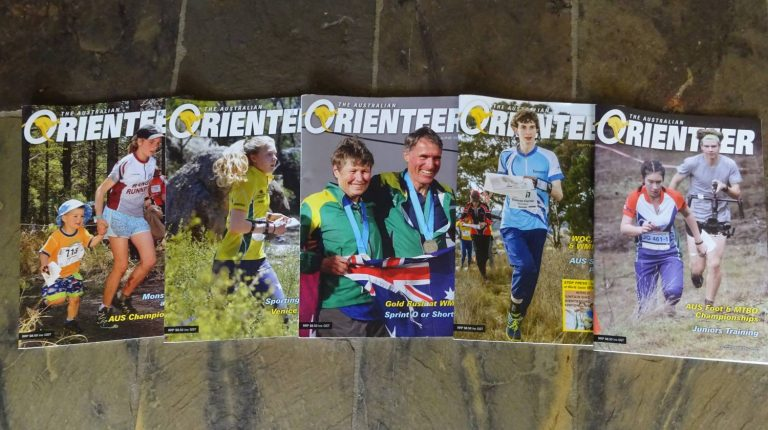 Opt-In for Australian Orienteer Hard-Copy