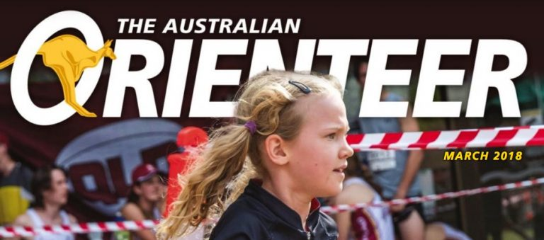 The Australian Orienteer March 2018 Edition