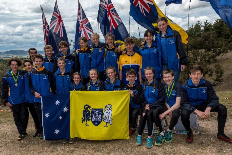 2018 ACT Schools Orienteering Team