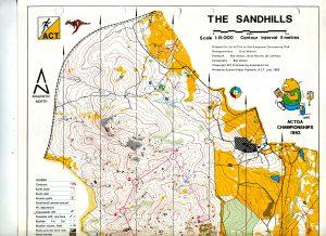 25 Orienteers return to The Sandhills after 35 years