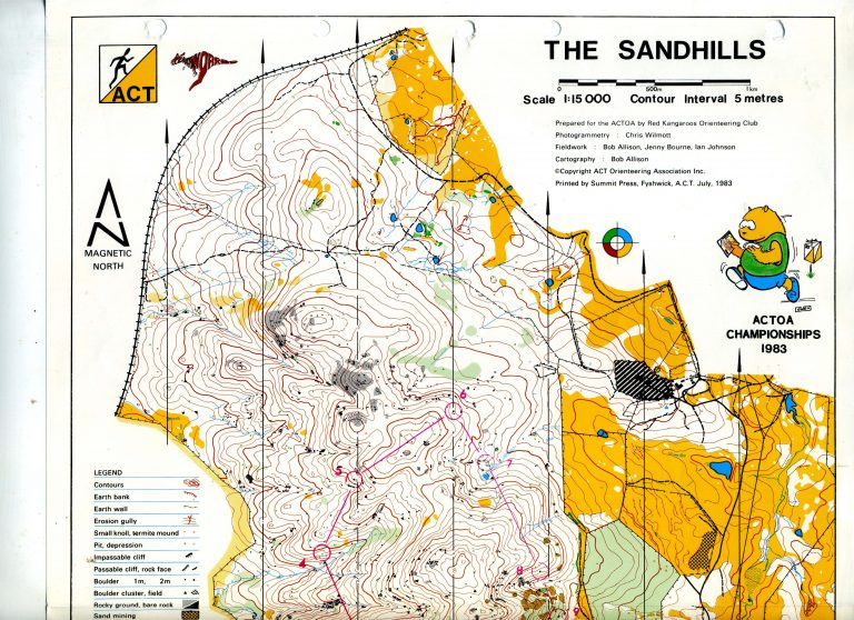 25 Orienteers return to The Sandhills after 35 years
