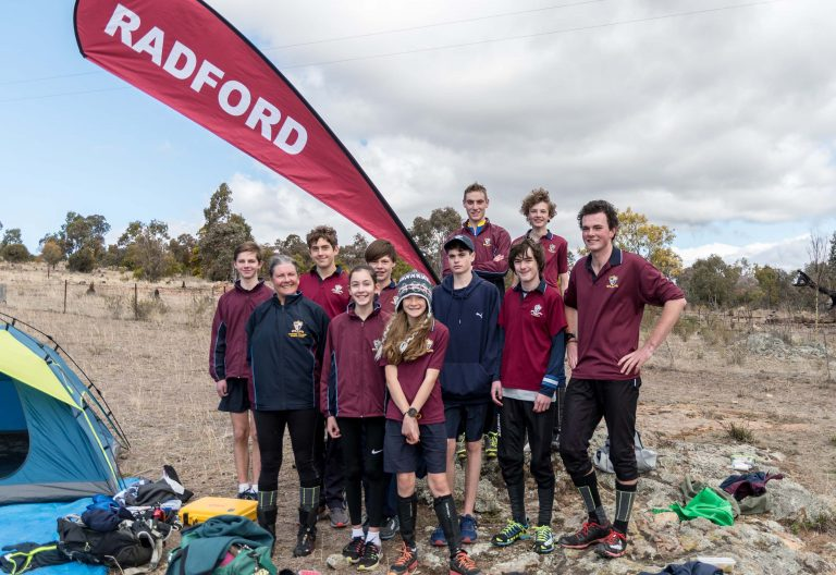 Radford College Students were Major Winners in 2018 ACT Secondary Schools Championships