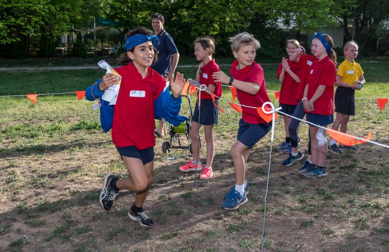 SC-ORE School Orienteering – wild running junior orienteers know how to navigate