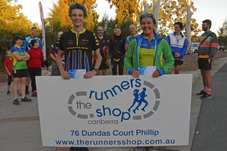 Consistency Rewards Top Three in Runners Shop Twilight Series