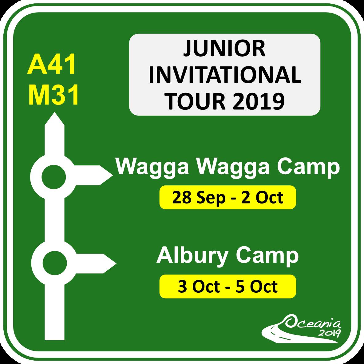 Junior Invitational Tour announced