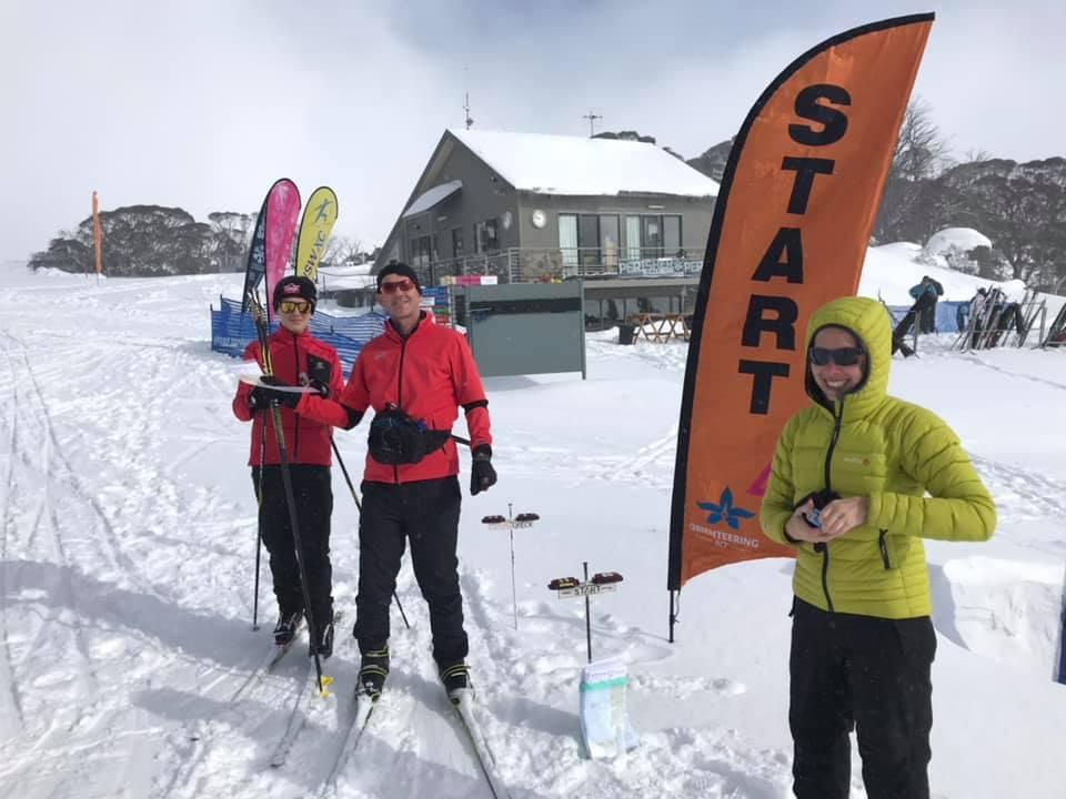 Plenty of Snow for Ski-O Championships