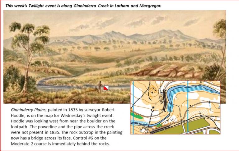 Ginninderra Creek History