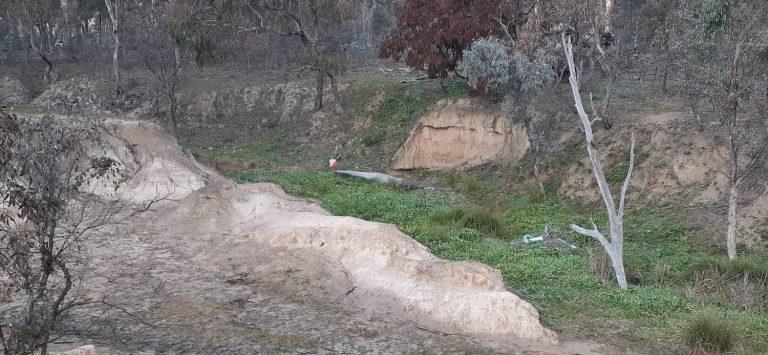 Seeking the Quarry at Mugga