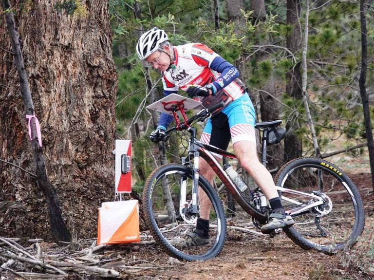 Damp Forecast Fails to Deter MTBO Riders