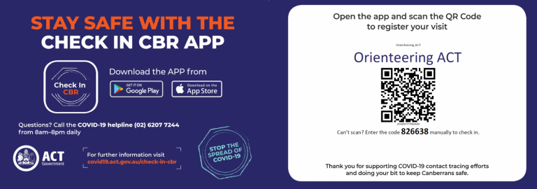 Compulsory Use of Check In CBR App at Upcoming Events