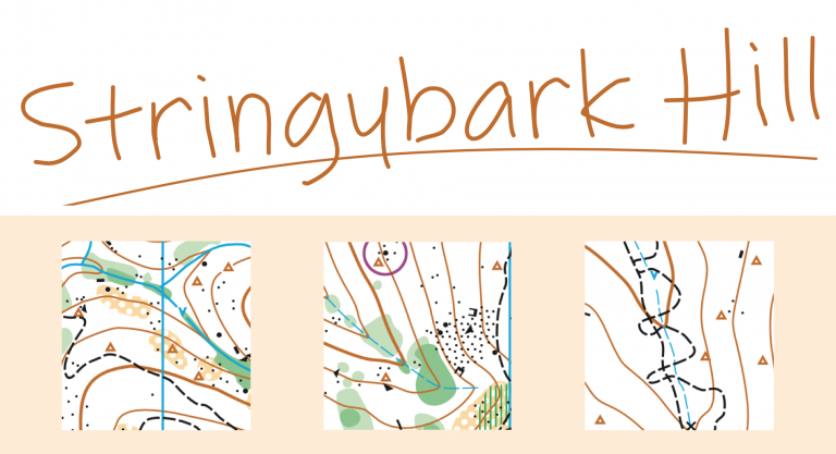 Stringybark Hill – new map for Jim Sawkins Classic